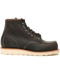 Red Wing Moc Toe 8890 Boots - Brown