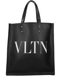 Valentino Garavani Black Handbags Vltn