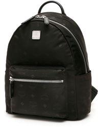 MCM Stark Print Backpack - Black