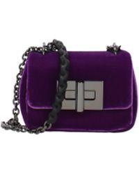 Tom Ford Shoulder Bags Women Violet - Purple