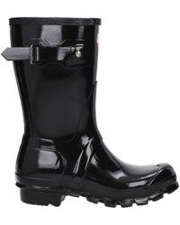 HUNTER Ankle Boots Women Black