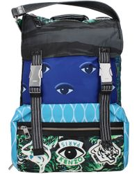KENZO Multicolour Backpack And Bumbags - Blue