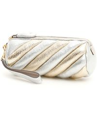 Anya Hindmarch Marshmallow Clutch - Metallic