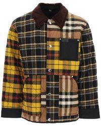 Burberry Patchwork Quilted Jacket M Cotton - Multicolour