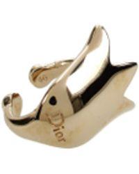 Dior Gold Rings - Metallic
