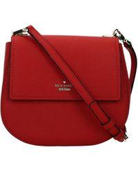 Kate Spade Crossbody Bag Cameron Street Leather - Red
