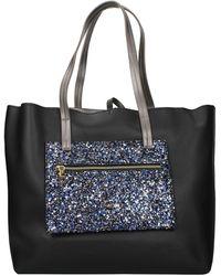 Pollini Shoulder Bags Polyurethane - Black
