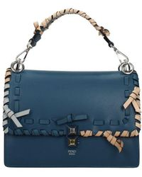 Fendi Handbags Kan L - Blue