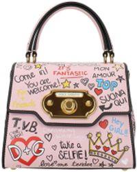 Dolce & Gabbana Pink Handbags Welcome