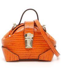 MANU Atelier Micro Demi Bag - Orange