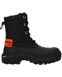 Heron Preston Ankle Boots Rubber - Black
