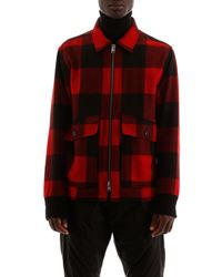 Woolrich Check Jacket - Red