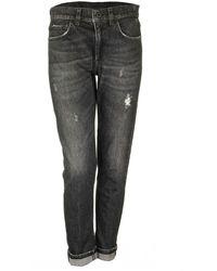 Dondup Mila Regular Jeans - Grey