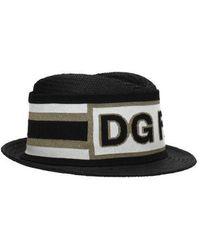 Dolce & Gabbana Hats Man Black