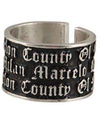 Marcelo Burlon - County Ring - Lyst