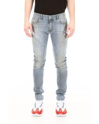 Represent Distressed Jeans - Blue