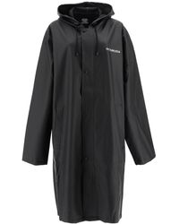 Vetements - Oversized Pvc Raincoat With Logo - Lyst