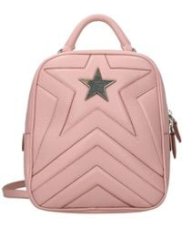 Stella McCartney Backpacks And Bumbags Stella Star Eco Leather - Pink