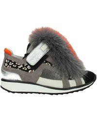 Pierre Hardy Sneakers Suede - Multicolour