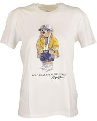 Ralph Lauren Polo Bear Crewneck Tee - White