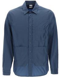 Aspesi Taffeta Shirt - Blue