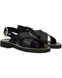 Giuseppe Zanotti Sandals Men Black