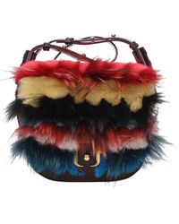Paula Cademartori Crossbody Bag Petite Babeth Leather - Multicolor
