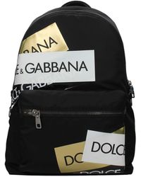 Dolce & Gabbana Backpack And Bumbags Men Black