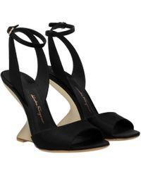 Ferragamo Black Sandals Arsina