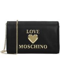 Love Moschino Black Clutches