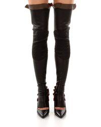 Fendi Black Socks Half Chap