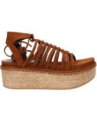 Stuart Weitzman - Sandals Women Brown - Lyst
