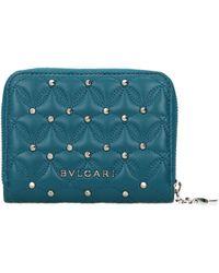 BVLGARI Wallets Diva Leather - Blue