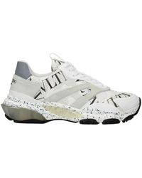 Valentino Garavani Trainers Vltn Fabric - White
