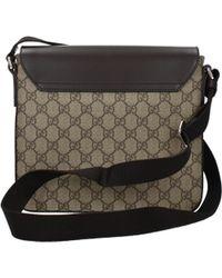 Gucci - Crossbody Bag Men Beige - Lyst