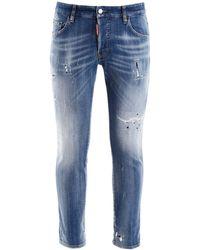 DSquared² Skater Jeans - Blue