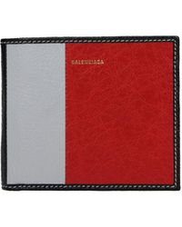 Balenciaga Wallets Men Multicolor - Red
