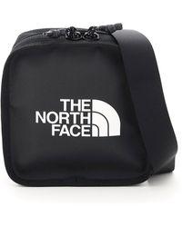 The North Face Logo Print Messenger Bag - Black
