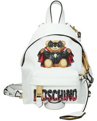 Moschino Backpacks And Bumbags Fabric - White