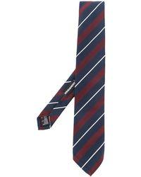 DSquared² Striped Classic Tie - Blue