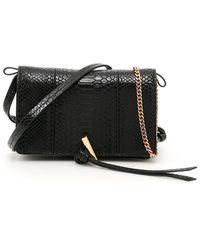 Stella McCartney Mini Flo Shoulder Bag - Black