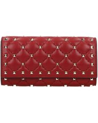 Valentino Wallets Woman Red