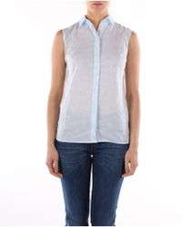 Fred Perry Shirt Women Blue