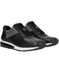Michael Kors Black Trainers Allie
