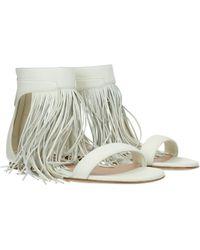 Alexander McQueen Beige Sandals - Multicolour