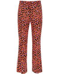 Marni Kiss Print Pyjama Trousers - Black