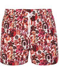 Kiton Sea Clothing - Red