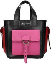Miu Miu Handbags Women Black - Multicolour