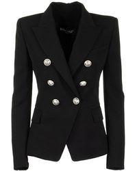 Balmain - Jacket Noir - Lyst