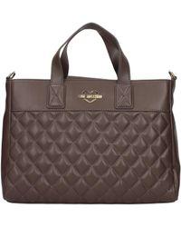 Love Moschino Handbags Women Grey - Multicolour